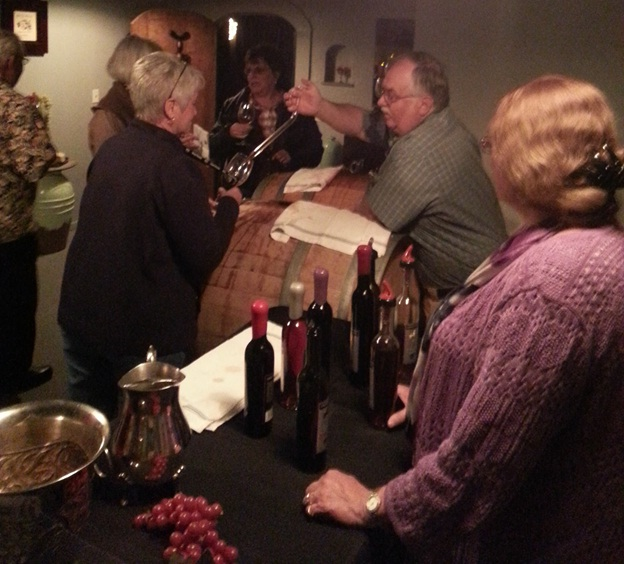 Special Events - Barrel Tasting